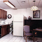 Kitchen accommodations