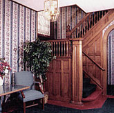 Historic Wooden Staircase